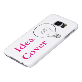 Samsung Galaxy S6 cover Idea pink writing