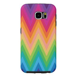 Samsung Galaxy S6 Retro Zig Zag Chevron Pattern