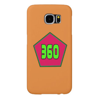 Samsung Galaxy S6 with 360 Logo Samsung Galaxy S6 Cases