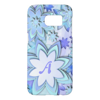 Samsung Galaxy S7 Case Abstract Lotus Flowers