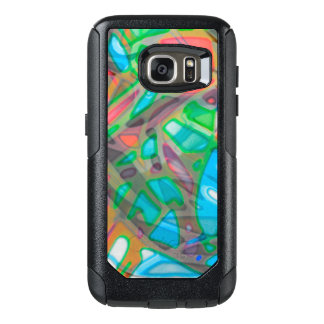 Samsung Galaxy S7 Case Colorful Stained Glass