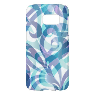 Samsung Galaxy S7 Case Floral abstract background