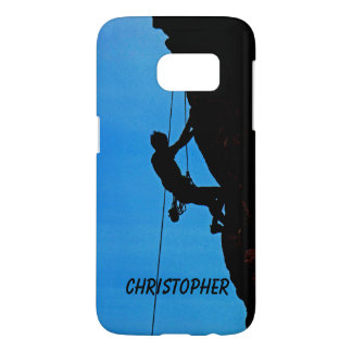 Samsung Galaxy S7 Case, Personalized, Rock Climber