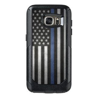 Samsung Galaxy S7 Thin Blue Line Cell Phone Case