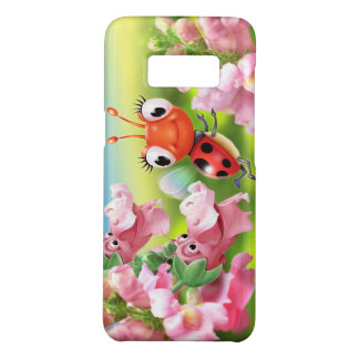 Samsung Galaxy S8 case Ladybug & Snap Dragons