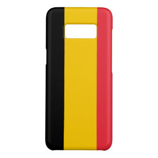 Samsung Galaxy S8 Case with flag of Belgium