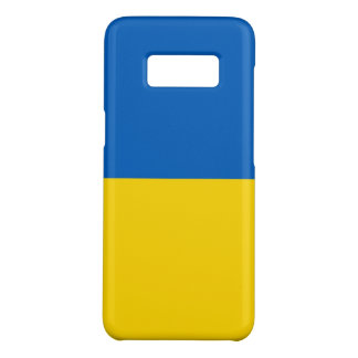 Samsung Galaxy S8 Case with flag of Ukraine