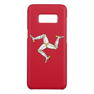 Samsung Galaxy S8 Case with Isle of Man flag, UK