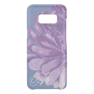 """Samsung Galaxy S8 Clearly """"Lavender Flower"""" Uncommon Samsung Galaxy S8 Case"""