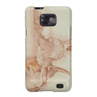 Samsung Galaxy S Barn Owl in Sepia Samsung Galaxy S2 Cover
