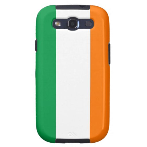 Samsung Galaxy S Case with Flag of Ireland Galaxy SIII Case