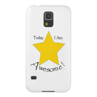 Samsung Glaxy S5 case: Today I Am Awesome Galaxy S5 Cases