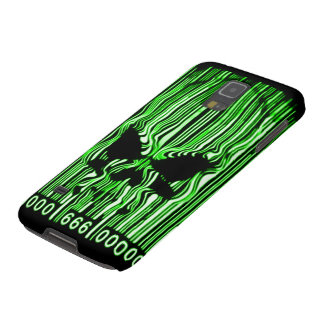 Samsung Nuclear Demon Barcode 666 Galaxy S5 Cases