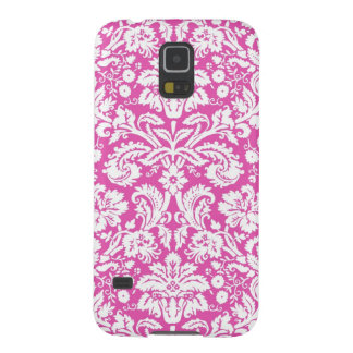 Samsung Pink Damask Pattern Case For Galaxy S5