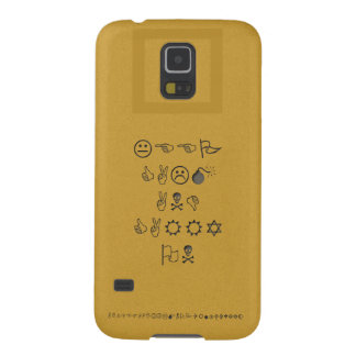 Samsung S5 Case (Keep Calm and Carry On Wingdings)