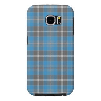 Samsung S6 Galaxy   Cornflower 2 Tartan Samsung Galaxy S6 Cases