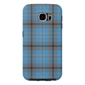 Samsung S6 Galaxy   Cornflower Tartan Samsung Galaxy S6 Cases