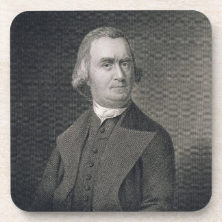 Samuel Adams, engraved by G.F. Storm (fl.c.1834) a Coaster