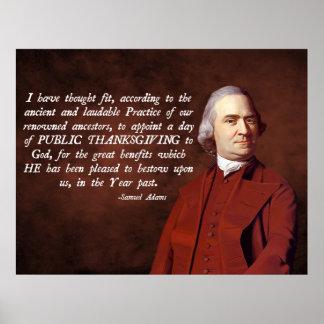 Samuel Adams Religion Print