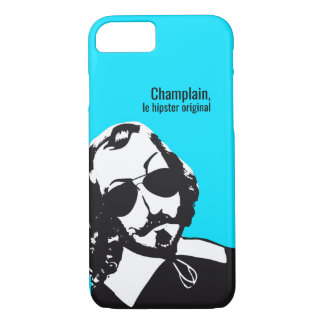 Samuel Champlain Hipster text of future+glasses iPhone 8/7 Case