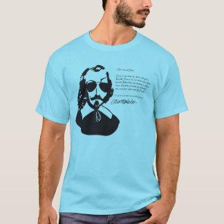 Samuel Champlain Hipster text of future+glasses T-Shirt