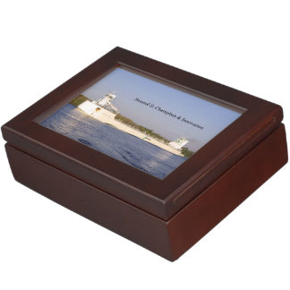 Samuel D. Champlain & Innovation keepsake box