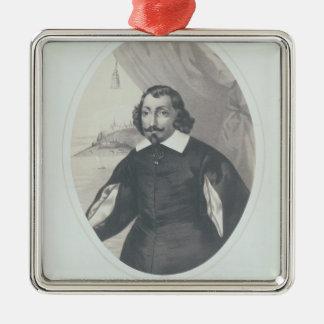 Samuel de Champlain  1854 Christmas Ornament