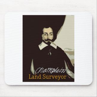 Samuel de Champlain Land Surveyor Mouse Pad