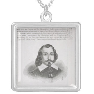 Samuel de Champlain Silver Plated Necklace