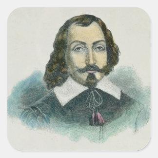 Samuel de Champlain Square Sticker