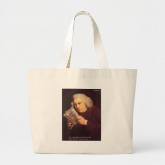 Samuel Johnson Love Is Wisdom Gifts Cards Etc Tote Bags