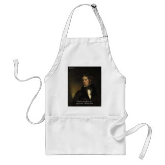 """Samuel Lover """"Rent Free Heart"""" Love Quote Gifts Aprons"""