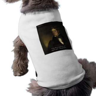 """Samuel Lover """"Rent Free Heart"""" Love Quote Gifts Sleeveless Dog Shirt"""