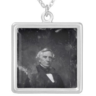 Samuel Morse  c.1844-60 Silver Plated Necklace