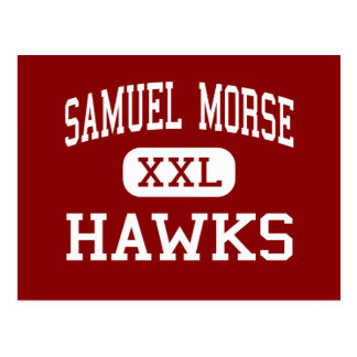 Samuel Morse - Hawks - Middle - Milwaukee Postcard