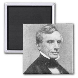 Samuel Morse Square Magnet