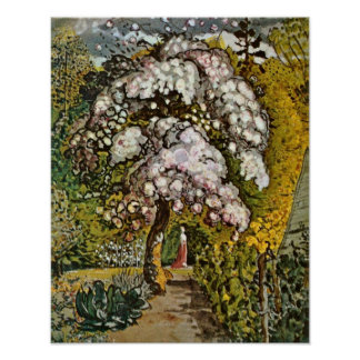 Samuel Palmer - Garden in Shoreham Poster