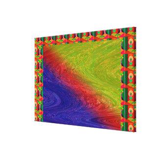 SAMUNDER - Rainbow reflection on waters Canvas Print