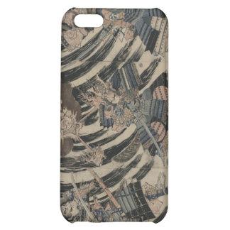 Samurai and Demon circa 1818 iPhone 5C Cases