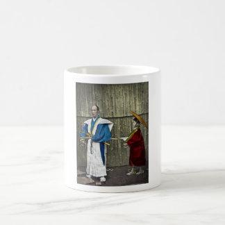 Samurai and Servant Coffee Mugs