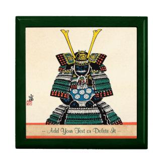 Samurai Armor Ō-yoroi japanese classic art tattoo Large Square Gift Box