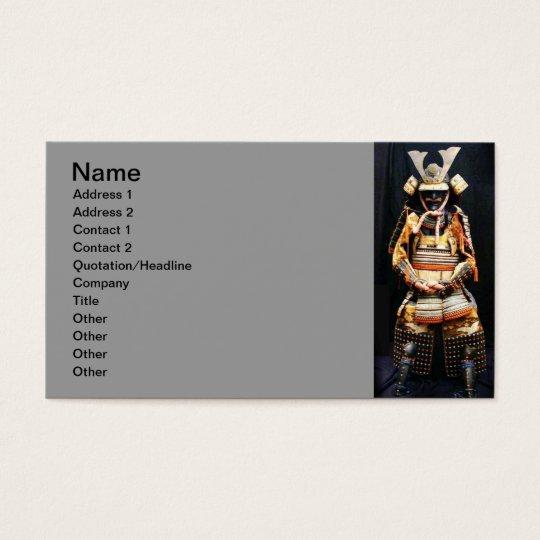 Samurai Armour Business Card