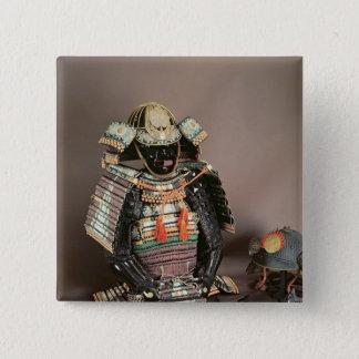 Samurai Armour, Muromachi Period  c.1384 15 Cm Square Badge