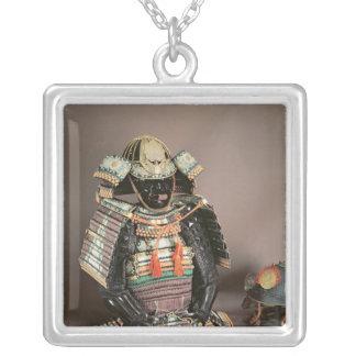 Samurai Armour, Muromachi Period  c.1384 Silver Plated Necklace