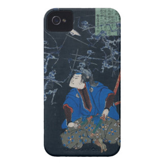 Samurai battles skeletons Case-Mate iPhone 4 cases