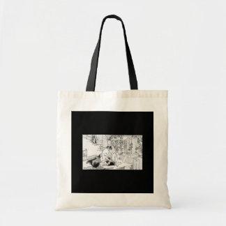 Samurai committing Hara-Kiri Canvas Bag