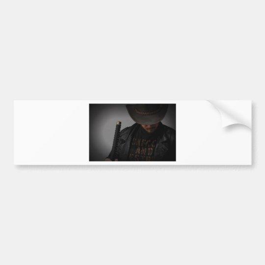 Samurai Cowboy by Me Bumper Sticker