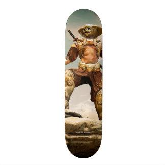 Samurai Cyborg skateboard Custom Skateboard