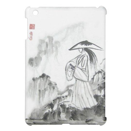 Samurai Drawing Sword iPad Mini Case