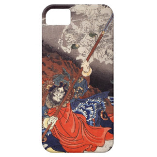Samurai Fighting Demons iPhone 5 Cover